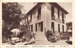 20-5916 : ANTIBES. HOTEL-PENSION LA PERGOLA. RUE ALBERT 1° - Autres