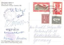 NEPAL - SCHWEIZ. DHAULAGIRI-EXPEDITION 1960 /ak929 - Népal