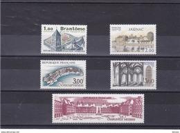 FRANCE 1983 TOURISME Yvert  2253-2255 + 2287-2288 NEUFS** MNH Cote : 6,70 Euros - Frankreich
