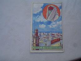 Ecole Bon Point Image Librairie Hachette Maroc Casablanca Chromo - Trade Cards
