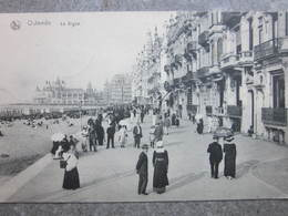 OOSTENDE Ostende  : DIGUE ZEEDIJK Villa's FELDPOST - Oostende