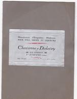 Catalogue De 28 étiquettes Anciennes -  Imprimerie Chavanne Et Dodevey - Saint Etienne - 42 - Collections, Lots & Séries