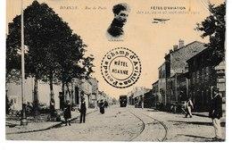 Loire ROANNE Fêtes D'aviation Septembre 1912 Rue De Paris  (Garros) - Roanne