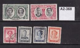 Sothern Rhodesia 1947 Royal Visit Anad Victory - Rhodesia Del Sud (...-1964)