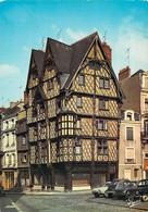 49 - Angers - Angle Place Sainte Croix Et Rue Montault - Maison D'Adam (XVe Siècle) - Angers