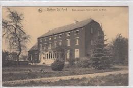 Walhain St. Paul. Ecole Ménagère Henry Carton De Wiart. - Walhain