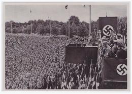 """DT- Reich (001210) Propaganda Sammelbild Deutschland Erwacht"""""""" Bild 153, SA Aufmarsch In Dortmund 1933 - Germania"""