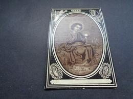 Doodsprentje ( 1283 )   Deleu / Missie -  Yper  Ypres  Ieper     1895 - Todesanzeige