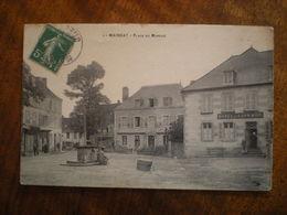Mainsat Place Du Marché - Autres Communes