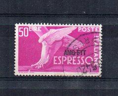 Italia -Trieste - Zona A - A.M.G. F.T.T. - 1952 - Espresso Del 1951 Sovrastampato - Usato - (FDC21249) - 7. Trieste