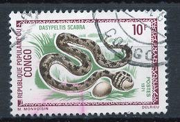 Congo - Kongo 1971 Y&T N°290 - Michel N°292 (o) - 10f Dasypeltis Niloticus - Used