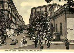 (C).Napoli.Via Cimarosa E Funicolare Di Chiaia.Vomero.F.to Grande.Nuova (c10) - Napoli (Naples)