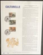 Belgique - FDC - Premier Jour - YT N° 2465 à 2467 - Série Culturelle - 1992 - FDC