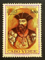 1969 The 500th Ann. Of The Birth Of Vasco Da Gama, Cabo Verde, Cape Verde, Republica Portuguesa, Portugal, *, ** Or Used - Cap Vert