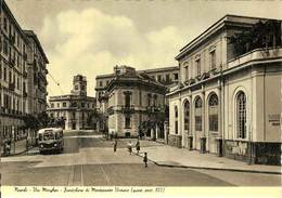 (C).Napoli.Via Morghen E Funicolare Di Montesanto.Vomero.F.to Grande.Nuova (c10) - Napoli (Naples)