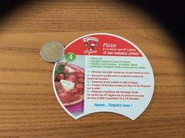 Etiquette Fromage Intercalaire La Vache Qui Rit Légère «recette Pizza» - Käse