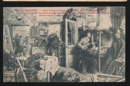 PREZ DE SEMPST   - 2 KREUKEN IN KAART - Oorlog 1914-18