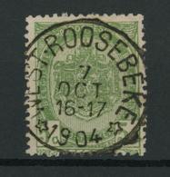 OCB 56 Met Stempel WESTROOSEBEKE.   LUXE!! - Postmarks With Stars
