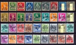 Dienstmarken/Timbres De Service: B.I.T. - Selektion Nr 388  Gest./obl. - Cote 135,00 € - Service