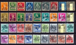 Dienstmarken/Timbres De Service: B.I.T. - Selektion Nr 388  Gest./obl. - Cote 135,00 € - Servizio