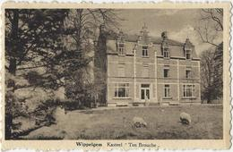 """Wippelgem    Kasteel  """"Ten Brouche"""". - Evergem"""