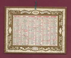 120420A - 1899 CALENDRIER ALMANACH DES POSTES ET DES TELEGRAPHES Oberthür à Rennes - Kalender