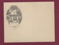 120420A - VIEUX PAPIER CARTE DE VISITE Illustration Sacré Coeur Rue Boissac LYON 69 - Tarjetas De Visita