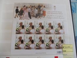 Belgique Belgie Kleine Blad Petite Feuille Numero 4184 Paola - Full Sheets