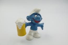 Smurfs Nr 20078#3 - *** - Stroumph - Smurf - Schleich - Peyo - Beer - Smurfs