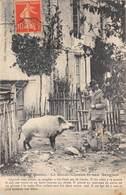 85-MERVENT- LE GARDE-CHASSE ET SON SANGLIER - Altri Comuni