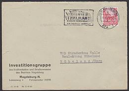 "Germany DDR Propaganda ""Ernst Thälmann Führer Seiner Klasse Ein Farbiger DEFA-FILM"" 1.11.1955 - Lettres"