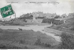Minihic. L'arrivée à La Plage De Minihic Et Partie Du Village. - France