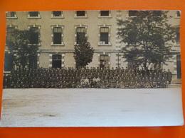 Carte Photo Groupe De Soldats De La 37ème Compagnie Du 135ème Régiment D'infanterie - Angers