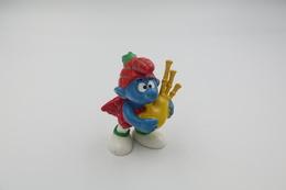 Smurfs Nr 20105#4 - *** - Stroumph - Smurf - Schleich - Peyo - Bagpipes - Schtroumpfs