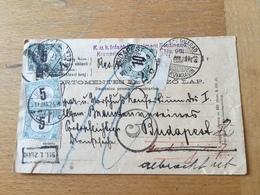 KS1 Ungarn 1911 Feldpostkarte Von Peterwardein Nach Budapest Nachporto + Zensur SUPER!!!!! - Hongrie