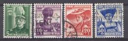 Suisse 1939  Mi.Nr: 359-362  Pro Juventute  Oblitèré / Used / Gebruikt - Suisse