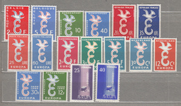 EUROPA 1958 Coplete Year Collection MNH (**) #18912 - Collections (without Album)