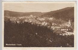(30031) AK Marienbad, Marianske Lazne, Totale, Feldpost 1914 - 18 - Sudeten