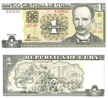 CUBA 1 Peso P 128 C 2008 UNC - Cuba