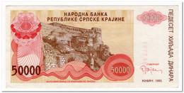 CROATIA,50 000 DINARA,1993,P.R21,AU - Kroatien