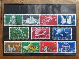SVIZZERA 1948/55 - 3 Serie Complete Nuove * + Spese Postali - Svizzera