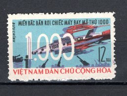 VIETNAM DU NORD  N° 507   NEUF SANS CHARNIERE COTE 9.00€    AVIONS ABATTUS - Viêt-Nam