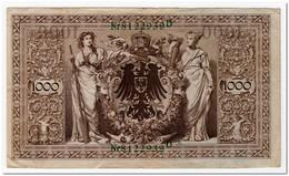 GERMANY,1000 MARK,1910,P.45b,VF-XF - [ 2] 1871-1918 : German Empire