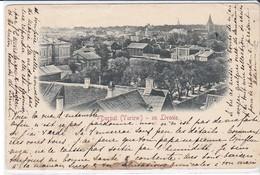 CPA Old Pc Estonie Dorpat Tartu View Early 1900 - Estonie