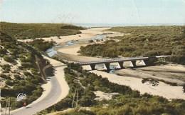 Carte Postale. Maroc. Essaouira. Mogador.Pont Sur L'Oued Kaob. Rue D'Agadir. Circulé. Jolie Flamme Semaine Du Folklore. - Puentes