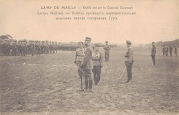 10 - CAMP De MAILLY / DEFILE DEVANT LE GENERAL GOURAUD - Mailly-le-Camp