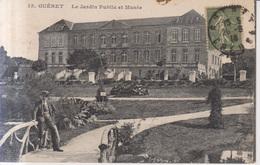 Gueret Le Jardin Public Et Le Musee  1918 - Guéret