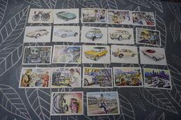 Chromos Jacques 35 Pc ENVOIS GRATUIT Autos 1962 1->143 22 Pc Autos 1964 146->282 13 Pc Gratis Verzending Free Shipping - Jacques