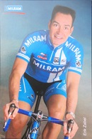 Postcard Erik Zabel  -  Team Milram  -  2006 - Ciclismo