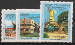 Kampuchea - 1989 - N°Yv. 854 à 856 - Fête Nationale - Neuf Luxe ** / MNH / Postfrisch - Kampuchea